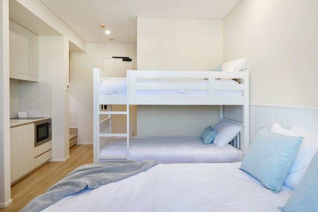 Nova Kiama Hotel Bunk Bed Family Room