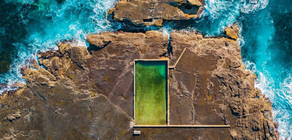 Ourie Rock Pool, Werri Beach